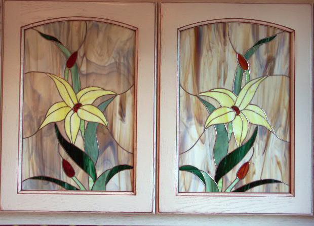 Vitrail fleurs related keywords vitrail fleurs long tail for Miroir vitrail modeles